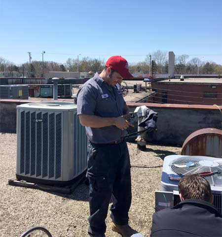 Williams Mechanical Service HVAC service.